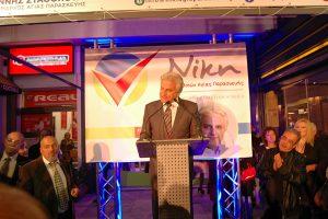 Ο κ. Σταθόπουλος μίλησε για το έργο που έχει υλοποιηθεί τα τελευταία χρόνια